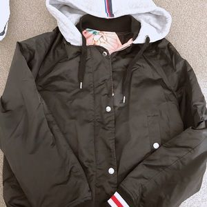 Brand new Tommy jeans jack reversible